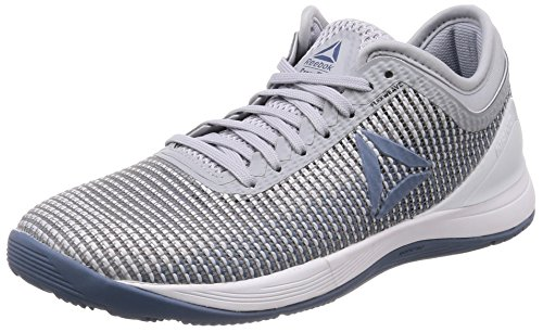 R Gris Slate De Reebok 0 Fitness white White cloud Femme Cloud blue White Nano white spirit Crossfit Chaussures 8 Grey zOYOxqdSw