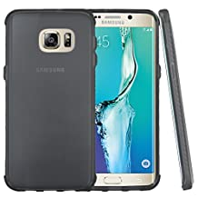 Galaxy S6 Edge Plus Case, Slim & Flexible Anti-shock Crystal Silicone Protective TPU Gel Skin Case Cover for Galaxy S6 Edge+ **Free KarenDeals Microfiber Cloth…