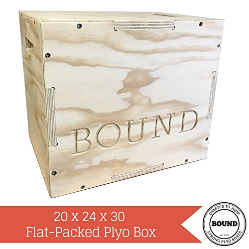 (20/24/30) Bound Plyo Box 3-in-1 Wood Puzzle Plyometric Box - CrossFit Training, MMA, or Plyometric Agility - Jump Box, Plyobox, Plyo Box, Plyometric Box, Plyometrics Box by BOUND Plyo Box (Image #8)