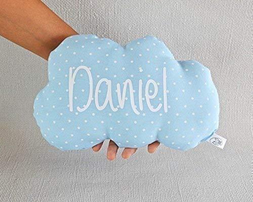 Cojín nube para bebé personalizado. *Novedad: Puedes añadir una casa personalizada, es el envoltorio perfecto para presentar de una manera original un ...