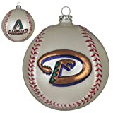 "MLB 4"" Team Baseball Ornament MLB Team: Arizona Diamondbacks"