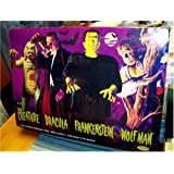 Aurora Universal Monsters Frightening 4 Pack Limited Edition Assembly Model Kit Set