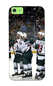 Blackducks High-end Case Cover Protector For Iphone 5c(minnesota Wild Hockey Nhl (77) )