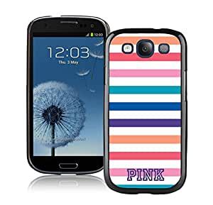 Victoria's Secret Love Pink 76 in Black Samsung Galaxy S3 Case Unique And Popular Designed Phone Case