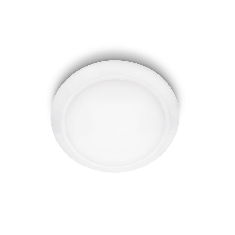 Philips myLiving LED Deckenleuchte Cinnabar, 1300 lm, 32 x 32 x 7,9 cm, Warmweiß 333623116 [Energieklasse A+] Warmweiß 333623116 915004570801 333623116_Bianco