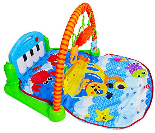 PLS Baby Kick and Play Piano Playmat,  Baby Toys, Battery In