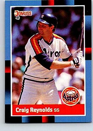 newest collection cdd06 3918f Amazon.com: 1988 Donruss #209 Craig Reynolds Mint Baseball ...