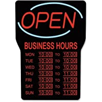 LED OPEN SIGN WITH BUSINESS