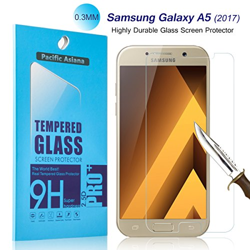 Tempered Glass Screen Protector for Samsung A5 - 7