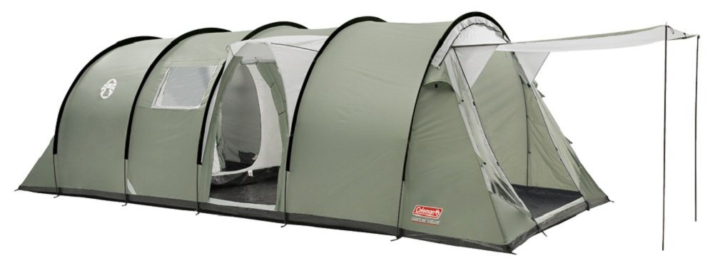 Coleman Coastline 8 Deluxe Tent Eight Person  sc 1 st  eBay & Large Deluxe Tunnel Tent 8 Person Coleman Coastline Easy Pitch ...