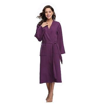 Tina Albornoz de Invierno Algodón Vestidos de Novia Vestidos Largos de Dama de Honor Estilo Kimono