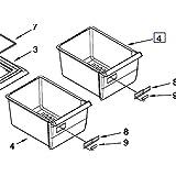 Whirlpool W67004515 Refrigerator Crisper Drawer Genuine Original Equipment Manufacturer Part OEM