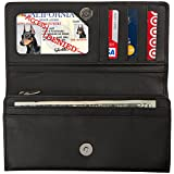 Access Denied Womens RFID Blocking Wallet Leather Accordian Organizer Reviews (Free Shipping Available)