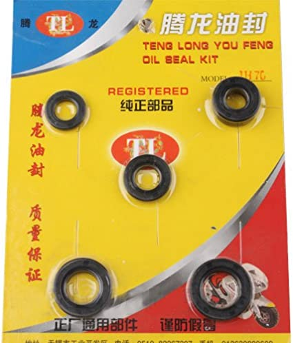 New Oil Seals Set Fit 110CC Pit Bike Dirt Bike DY100