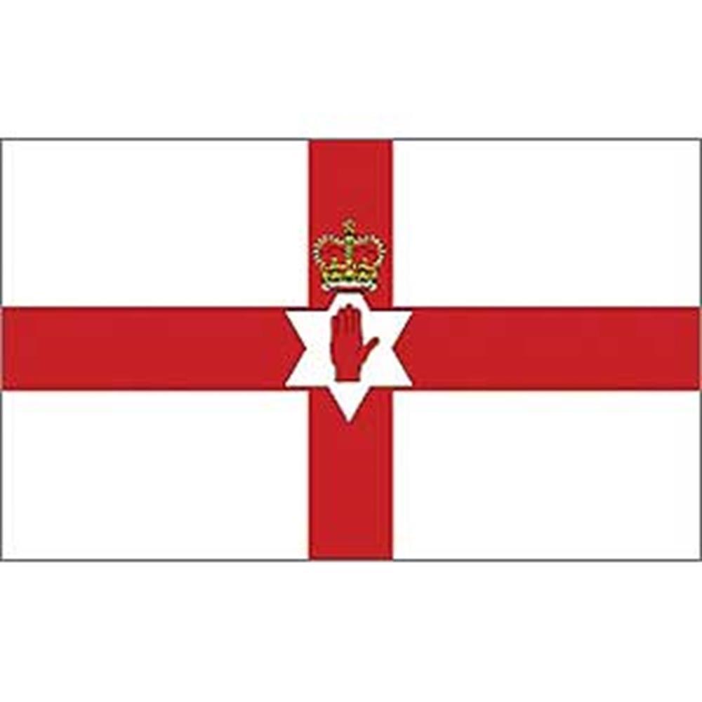 12in x 18in EagleEmblems F8080 Flag-Ireland,Northern