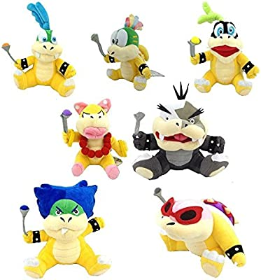 Bowser & Co. Juego completo - 8Pc Super Mario Koopalings con ...