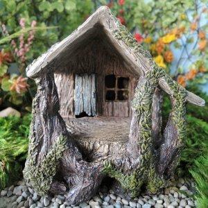 Amazoncom Miniature Fairy Garden House Fairy Garden Village