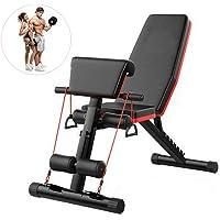 Fnova Banco de pesas ajustable para fitness, inclinación