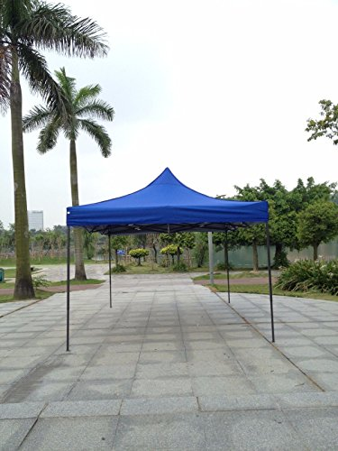 Cheap American Phoenix 10×10 10×20 Multi Color and Size Portable Event Canopy Tent, Canopy Tent, Party Tent Gazebo Canopy Commercial Fair Shelter Car Shelter Wedding Party Easy Pop up (10×15, Blue)