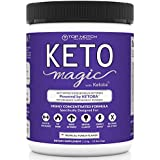 Keto Magic Exogenous Ketone Supplement Powered by Patent-Pending Blend KETOBA (BHB's+BA) | Achieve & Stay in Ketosis & Ketogenesis | Feel Energized, Empowered, Focused & Reach Your Goals!
