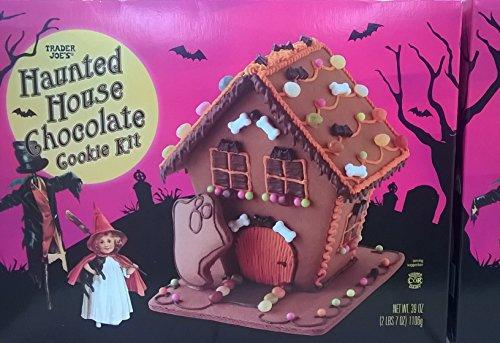 Trader Joe's Haunted House Chocolate Cookie (Trader Joe's Halloween Candy)
