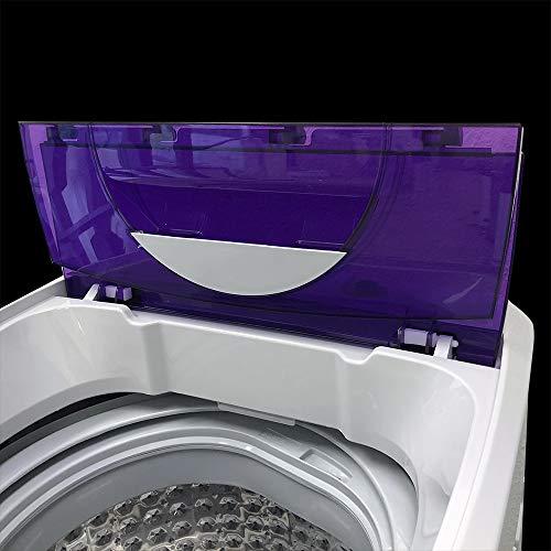 Panda PAN56MGP3 1.6cu.ft Portable Compact Machine, 11lbs Capacity, PAN56MGP3-10 Wash Programs, 8 Water Level, Top Load Cloth Washer, 1.6 cu.ft