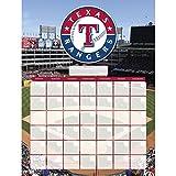 Texas Rangers Jumbo Dry Erase Sports Calendar