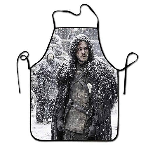 Yloveme Kitchen Apron 2019 Game of Thrones season4 Unisex Kitchen Bib Apron