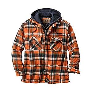 Legendary Whitetails Maplewood Hooded Shirt Jacket Jacket