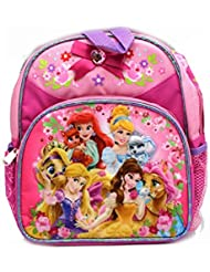 Mini Size Pink Disney Princess Palace Pets Kids Backpack
