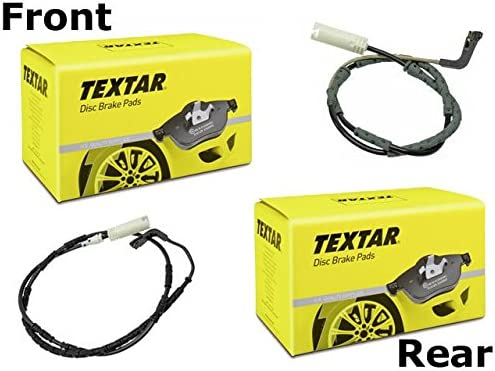 For BMW X5 X6 2007 2008 2009 2010 2011 2012 Textar Brake Pad Set 34216776937