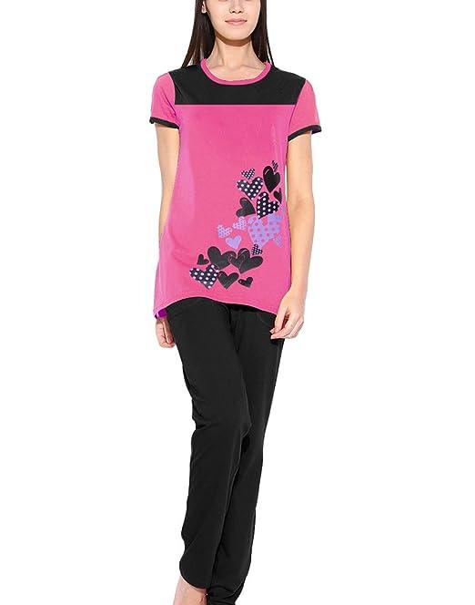 lily buds women pyjama sets sgwpy01 01xxl_pink_xx large amazon inlily buds women pyjama sets