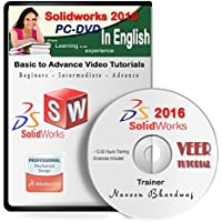 Veer Tutorial Solidworks 2016 Advance Video Training (1 DVD, 11 Hrs Training) in English