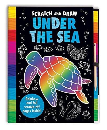 Sea Animals Book Activity (Scratch and Draw Under the Sea)