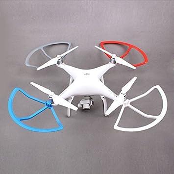 Flycoo 4 Piezas Protectores de hélices para dji Phantom 4 4 Pro ...
