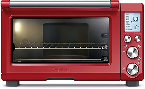 Breville BOV845CRNUSC Smart Oven Pro Countertop Convection, Cranberry Red