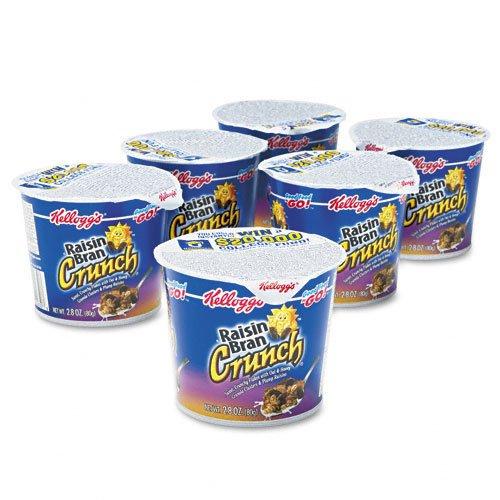 Kellogg's Raisin Bran Crunch Cereal-in-a-Cup-2.8 oz, 6 ct
