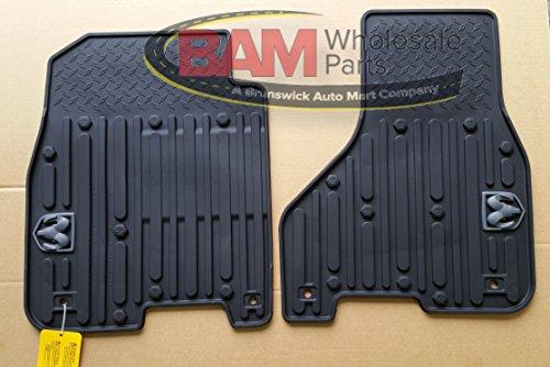 Mopar 82213404 Black All-Weather Floor Mat