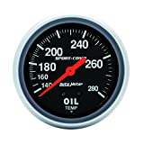 Auto Meter 3443 Sport-Comp Mechanical Oil Temperature Gauge