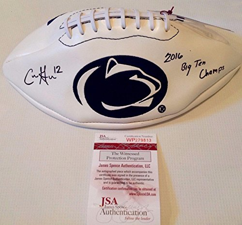 - Penn State Nittany Lions Chris Godwin Signed Logo Football Coa!! - JSA Certified - Autographed College Footballs