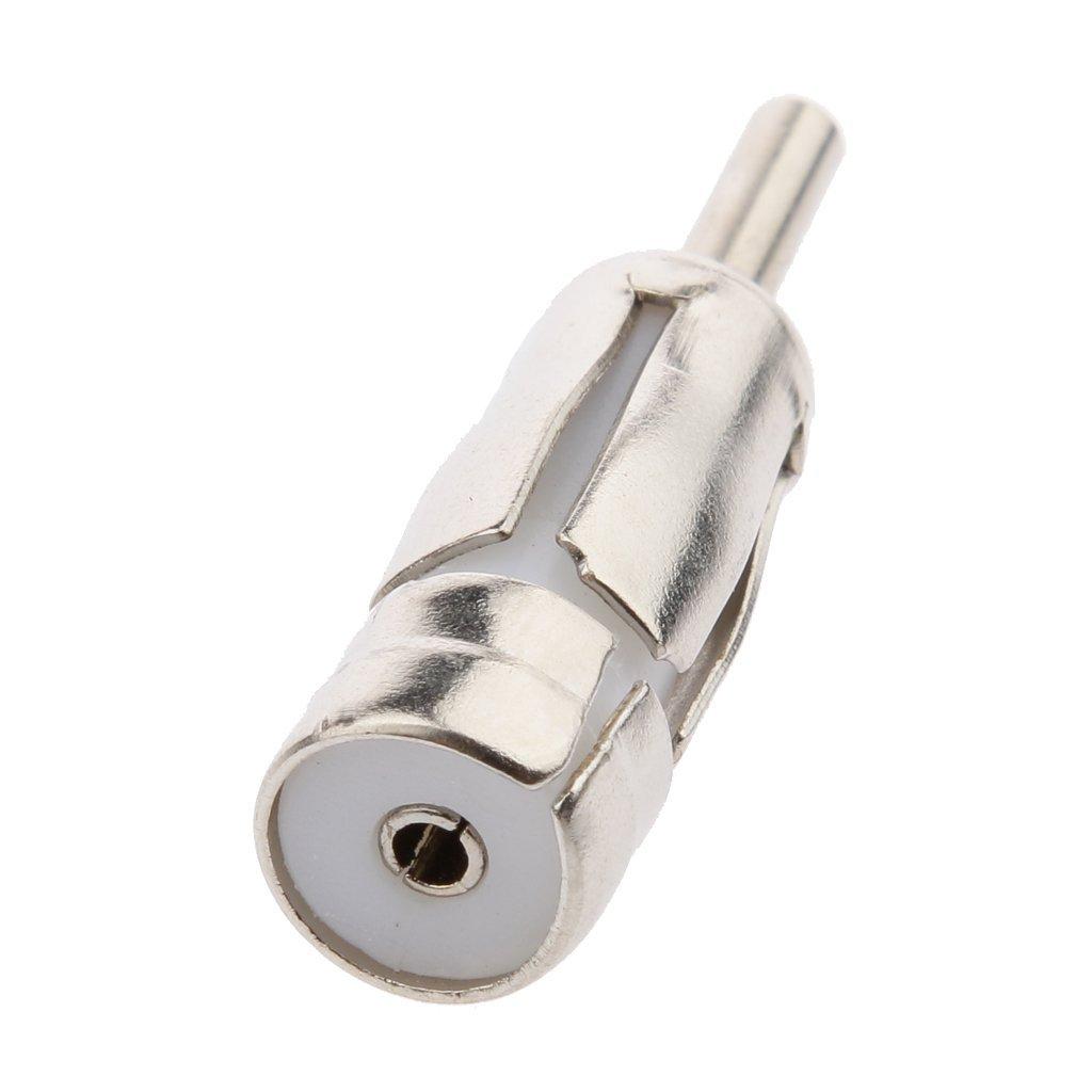 Ogquaton Adaptateur dantenne de voiture Antenne adaptateur m/âle adaptateur dadaptateur dantenne ISO pour DIN Pratique et populaire