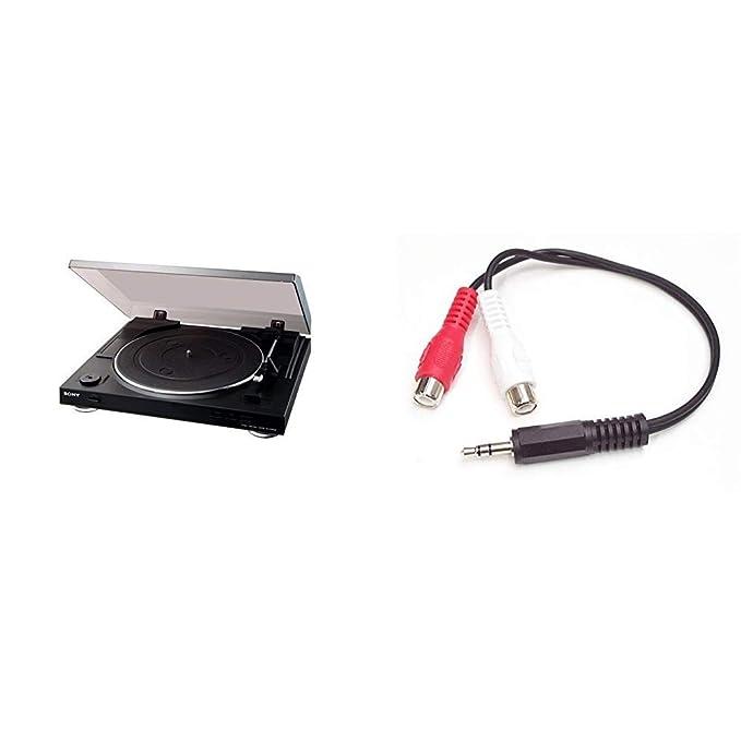 Sony PSLX300USB - Giradiscos con salida USB (software de edición incluído), color negro