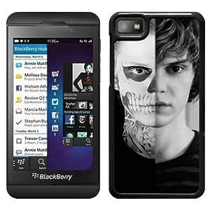 Evan Peters 2 Black New Design Phone Case For Blackberry Z10 Case