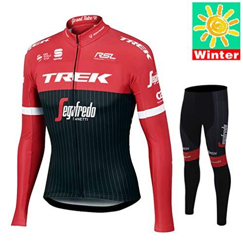 XiXiMei Style 10 Mountain BIK Winter Thermal Warm Long Sleeve for Men MTB Cycling Jacket and Pants Set 3X-Large