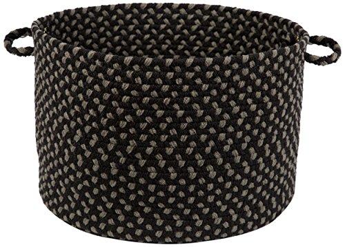 Melrose Basket, Black Satin ()