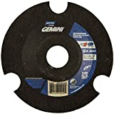 Norton Charger AVOS Depressed Center Abrasive Wheel, Type 29, Aluminum Oxide, 7/8'' Arbor, 4-1/2'' Diameter x 1/8'' Thickness, Grit 36   (Pack of 25)