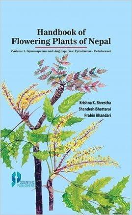Handbook of Flowering Plants of Nepal Vol 1: Gymnosperms and