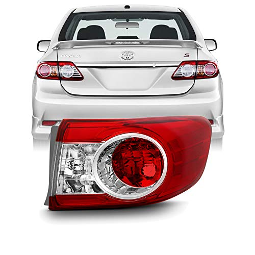 - For 2011 2012 2013 Factory Style Toyota Corolla Passenger Right Side Outer Tail Light Lamp