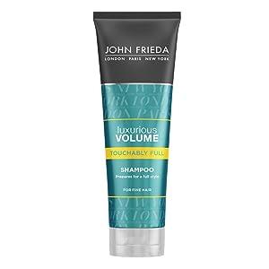Luxurious Volume Full Splendor Shampoo by John Frieda for Unisex Shampoo, 8.45 Ounce
