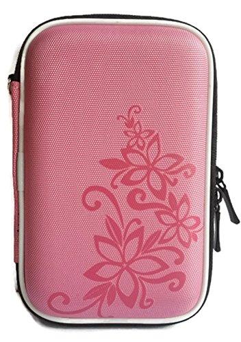 Intel Rack Bracket (Portable Hard Drive Case - Pink color with flower)